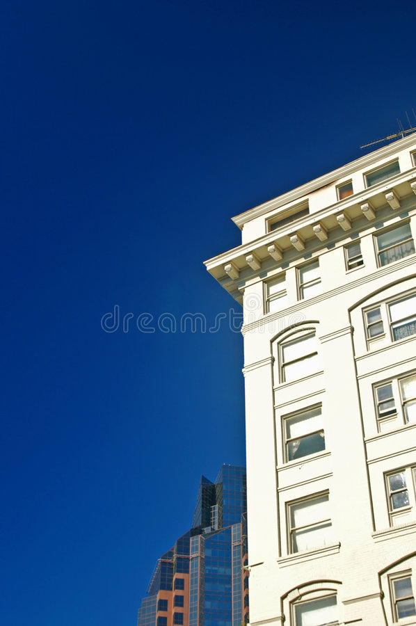 Stedelijke gebouwen royalty-vrije stock fotografie