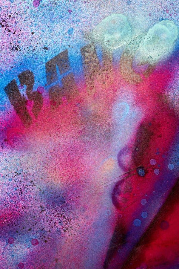 Stedelijke graffitiachtergrond vector illustratie