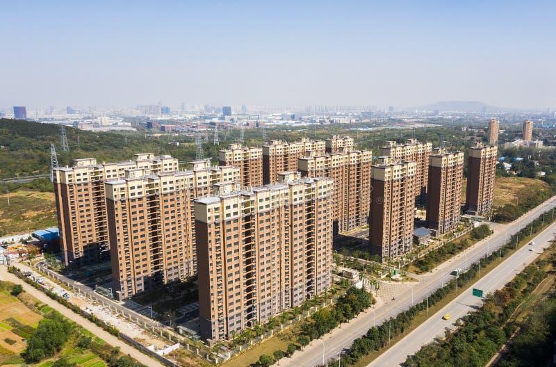 Stedelijke huisvesting in China royalty-vrije stock foto