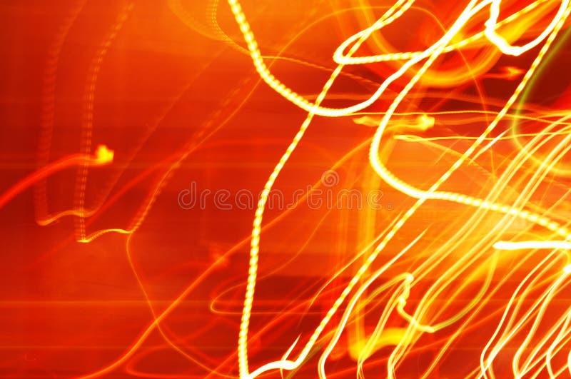 Stedelijke lichten royalty-vrije stock afbeeldingen