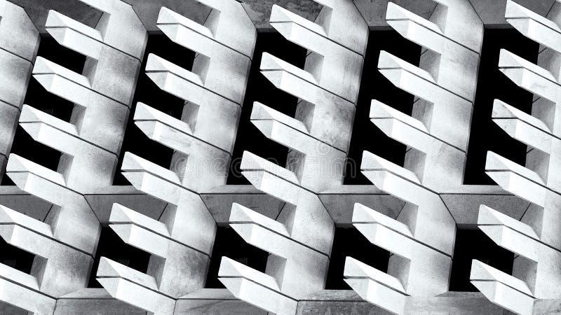 Stedelijke stadsmening, stedelijke bouw, architectuurdetails en fragment in zwart-wit, de bouwfragment stock afbeeldingen