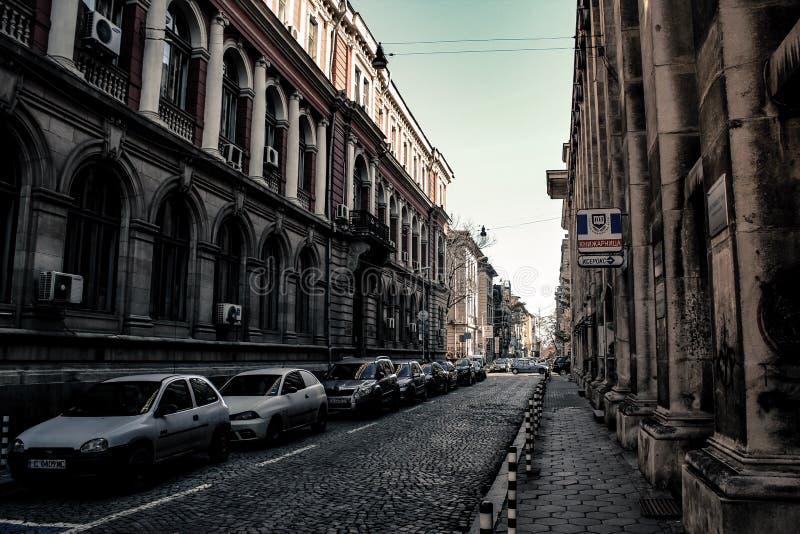 Stedelijke Straat royalty-vrije stock fotografie