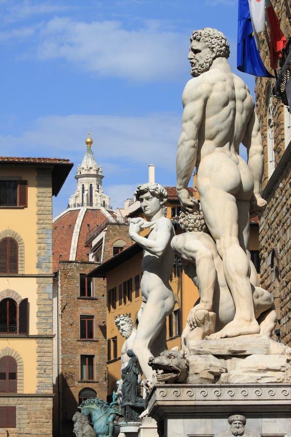 Stedelijke toneel van Florence stock foto