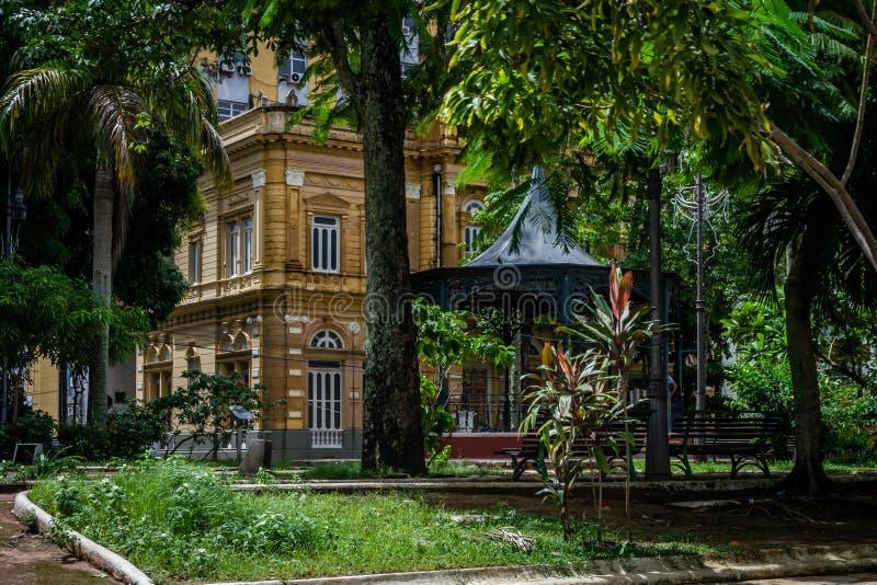 Steden van Brazilië - Manaus, Amazonas - Stadsmeningen royalty-vrije stock afbeelding