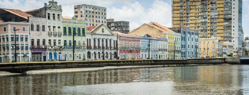 Steden van Brazilië - Recife, Pernambuco-het kapitaal van de staat stock foto's