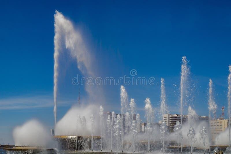 Steden van het Kapitaal van Brazilië - Brasilia - van Brazilië royalty-vrije stock afbeelding