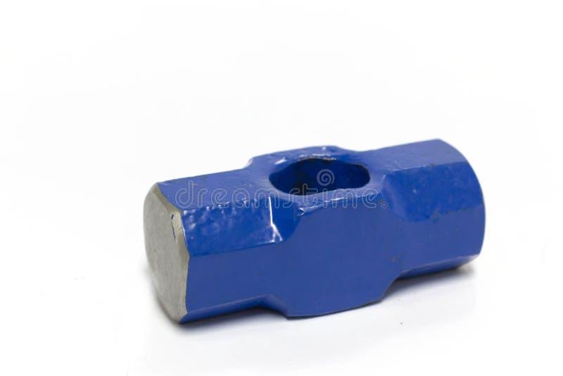 Stee azul do martelo da grande protuberância imagens de stock