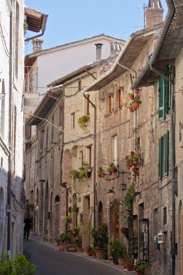 Steeg van Assisi stock foto's