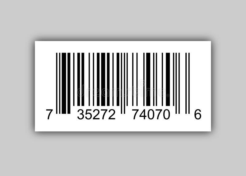 SteekproefStreepjescodes voor de Vector geïsoleerde Illustratie van het Aftastenpictogram vector illustratie