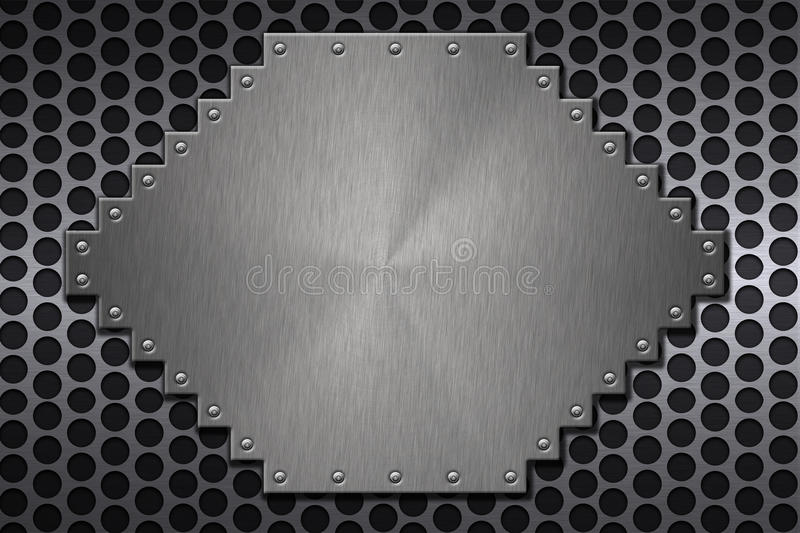 Download Steel stock illustration. Illustration of hard, space - 12600046