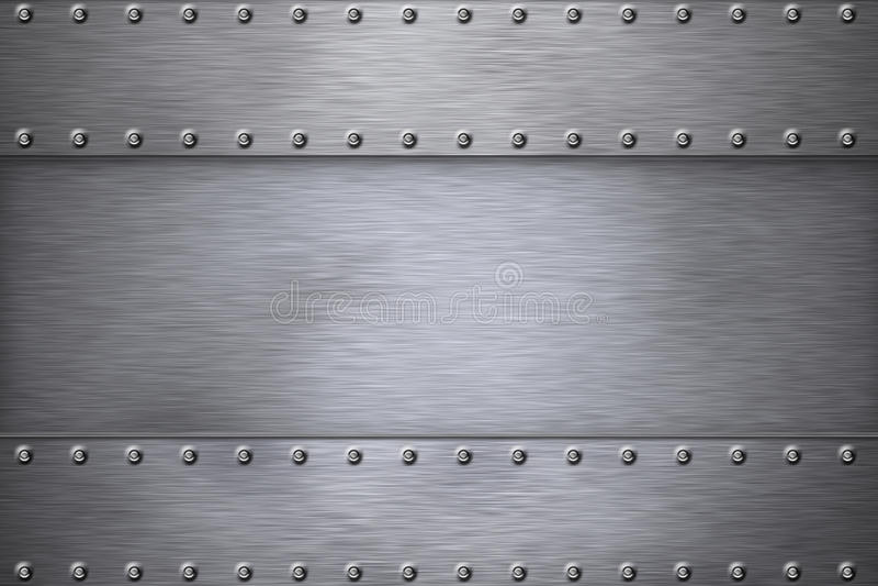 Download Steel stock illustration. Image of copy, panel, armor - 13336007