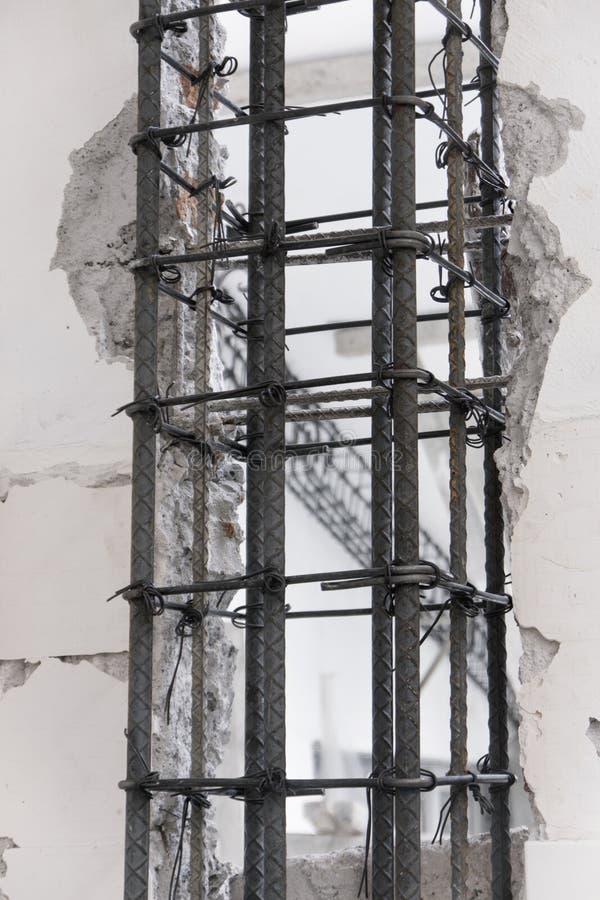 Download Steel Armature Column stock photo. Image of work, column - 29393754