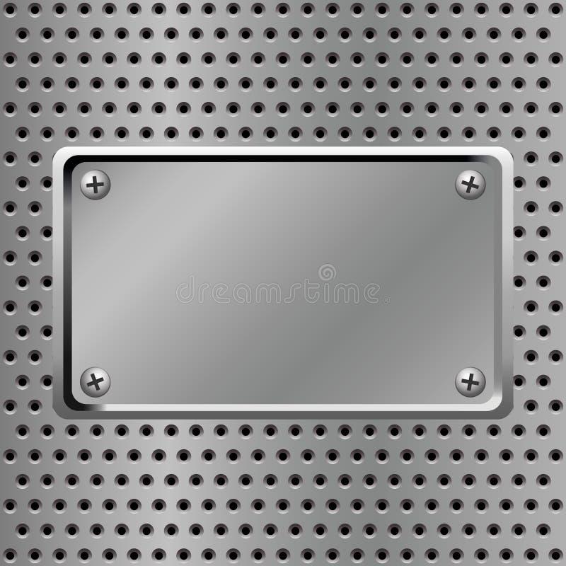 Steel Background Stock Image