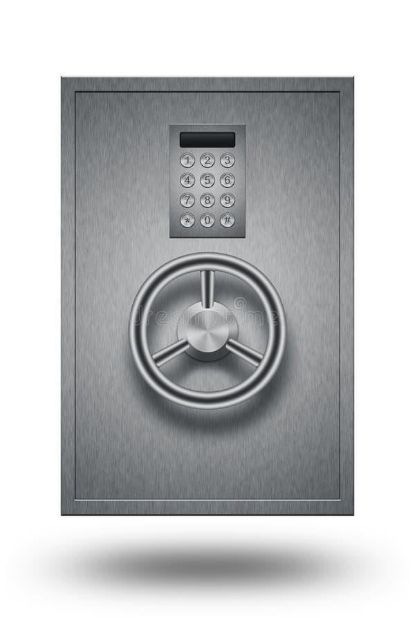 Download Steel Bank Safe stock illustration. Illustration of protect - 28883963