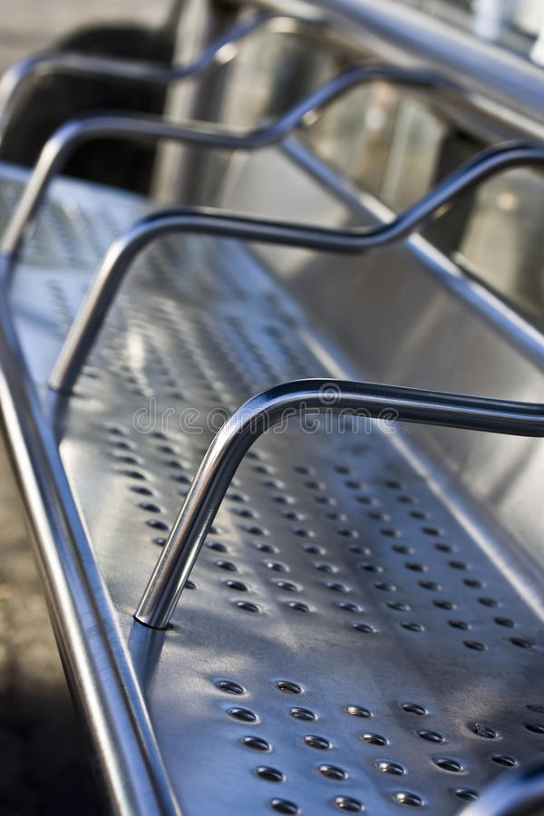 Steel Bench Stock Images