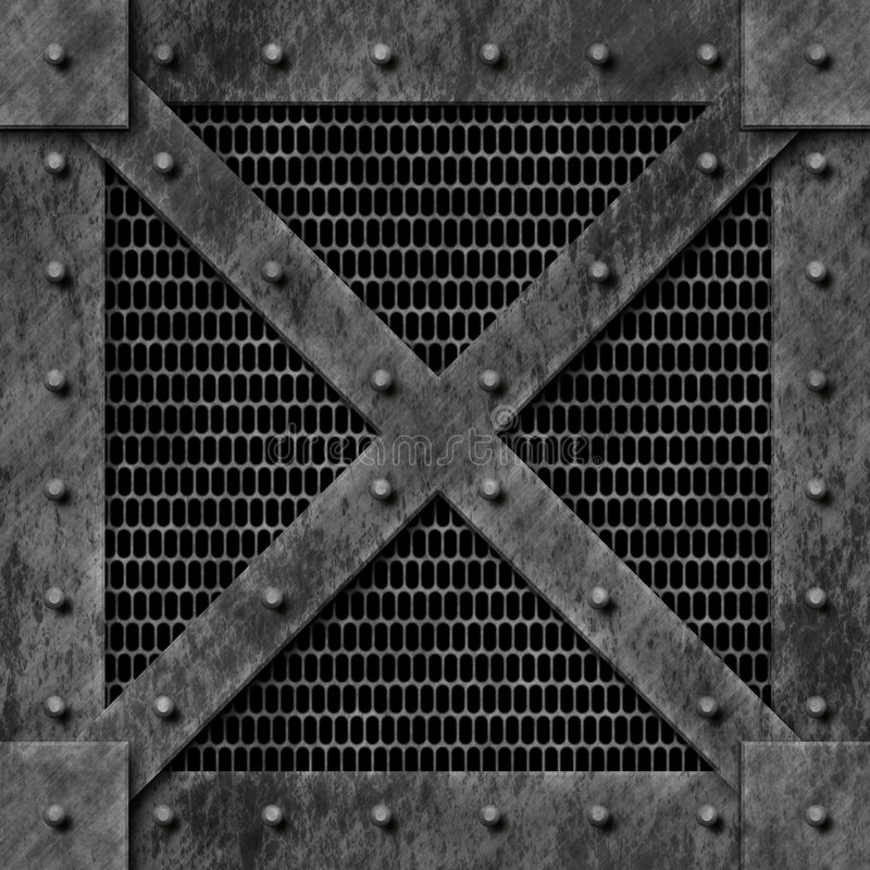 Steel Box Stock Illustration Illustration Of Crate Bumps