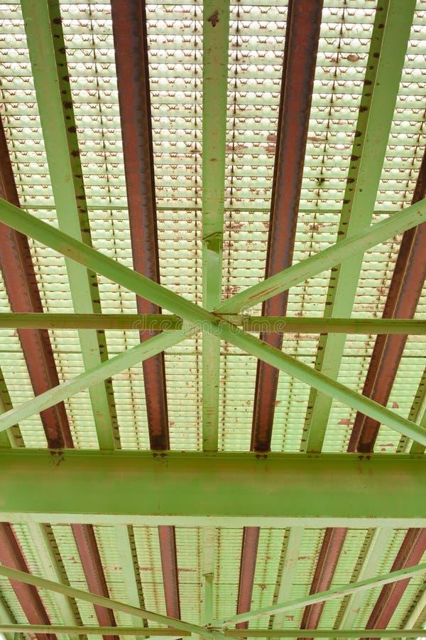Steel bridge detail stock photography