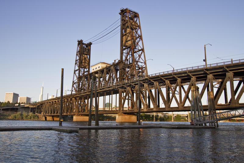 Steel Bridge Portland Oregon 3 stock photos