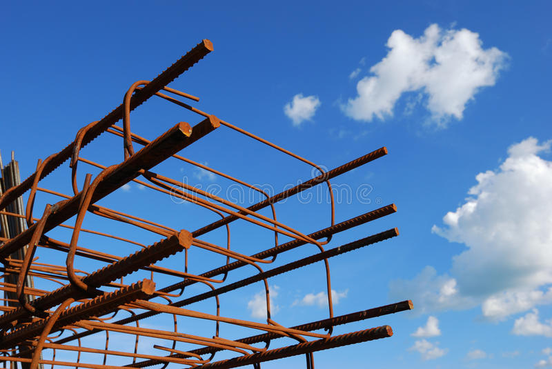 Download Steel building armature stock photo. Image of metal, corrode - 19826394