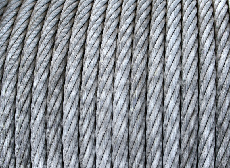 Download Steel cable on a coil stock photo. Image of twine, spool - 2407712