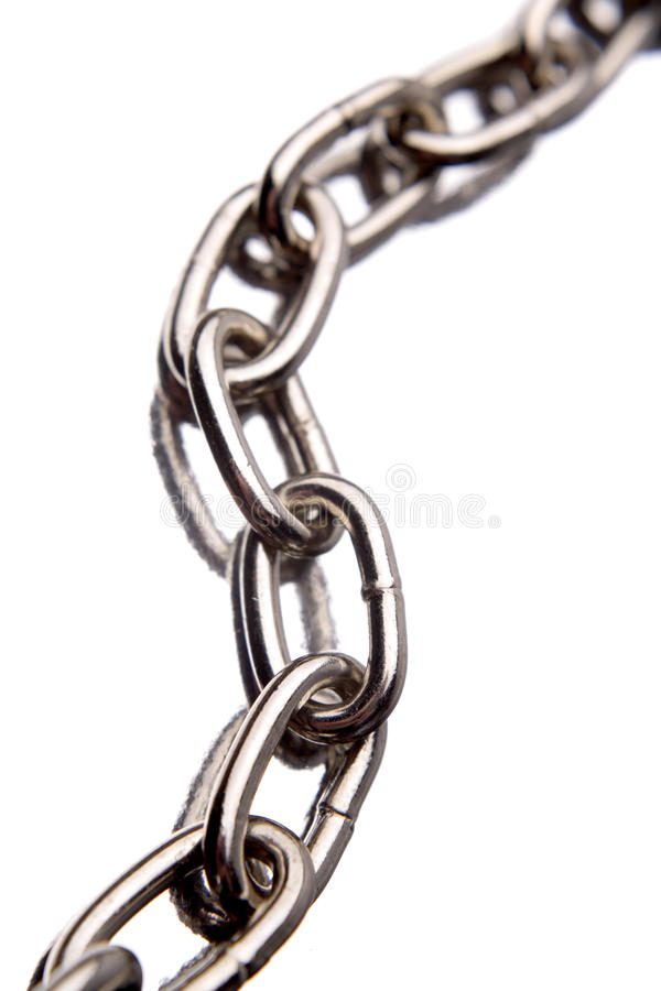 Download Steel chain links stock image. Image of background, closeup - 10142717