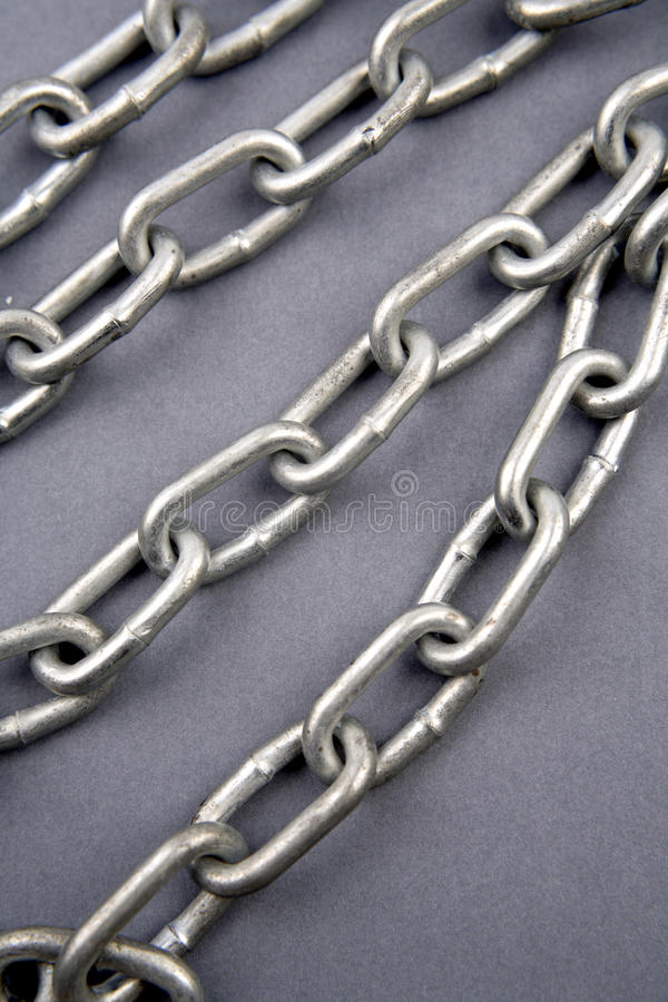 Steel chains royalty free stock photos