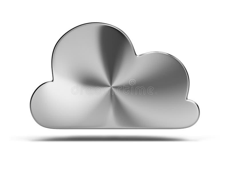 Download Steel cloud stock illustration. Illustration of connection - 22580902