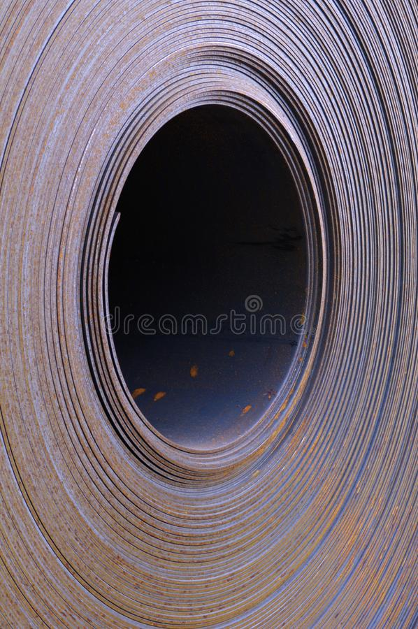 Download Steel Coil Detail stock photo. Image of abstract, metal - 19491504