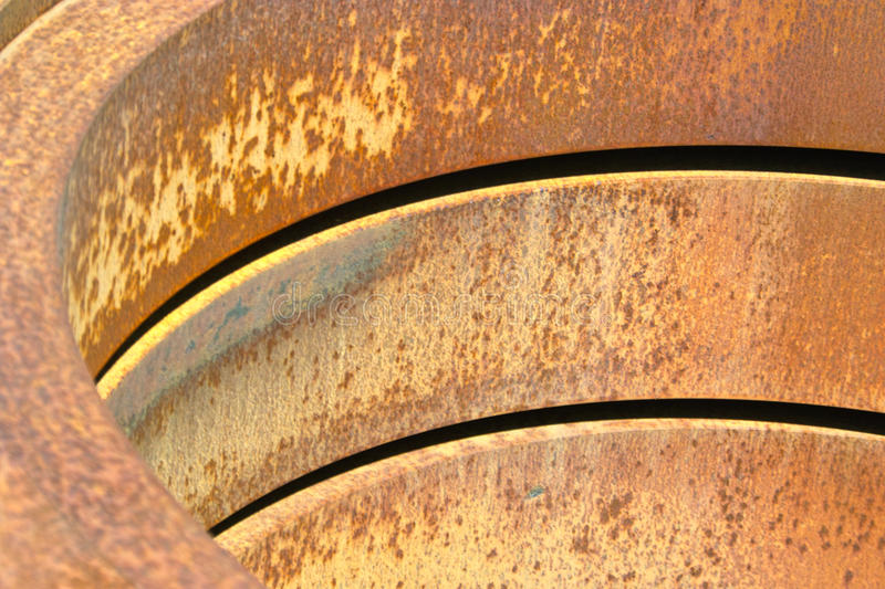 Steel Coils Royalty Free Stock Photos