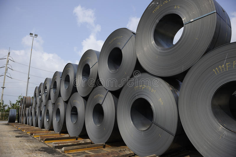 Download Steel coils stock image. Image of crafts, sheets, metals - 32529761