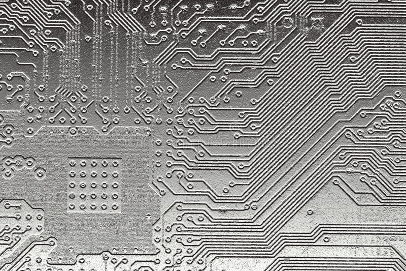 Download Steel computer design stock photo. Image of macro, board - 1419650