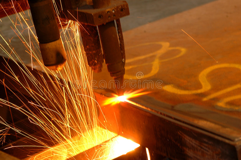 Steel cutter royalty free stock images