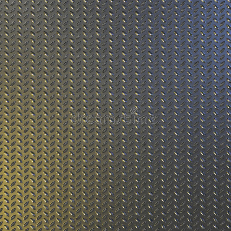 Steel Diamond Pattern Plate Background Royalty Free Stock Photo