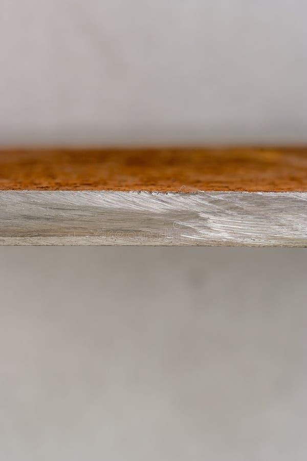 Steel edge stock photography