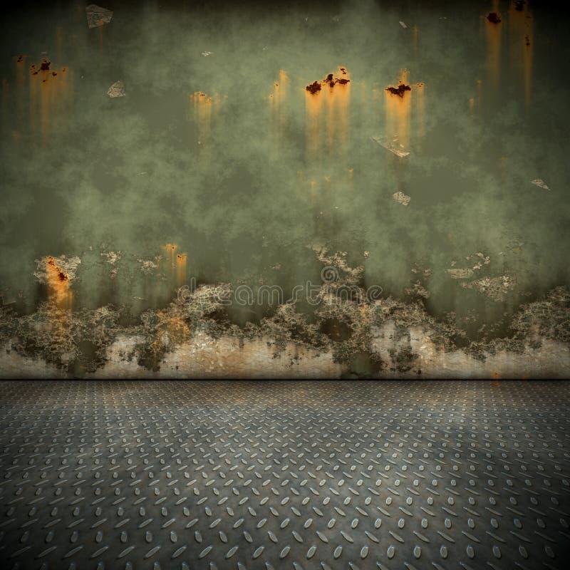 Steel floor vector illustration