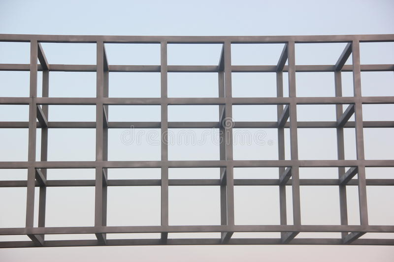 Steel Framed Factories : Steel frame structure stock photo image of manufacturing
