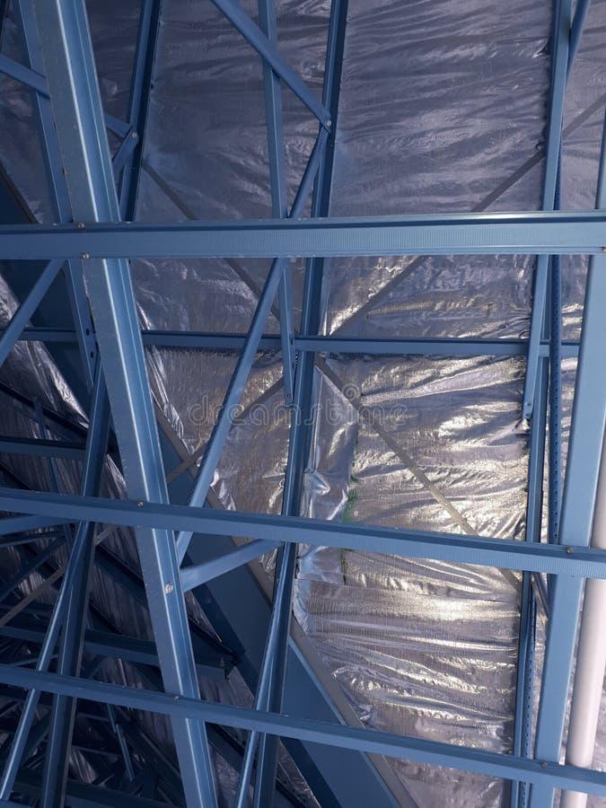 Steel framed house stock photo. Image of framed, bracing - 110516304