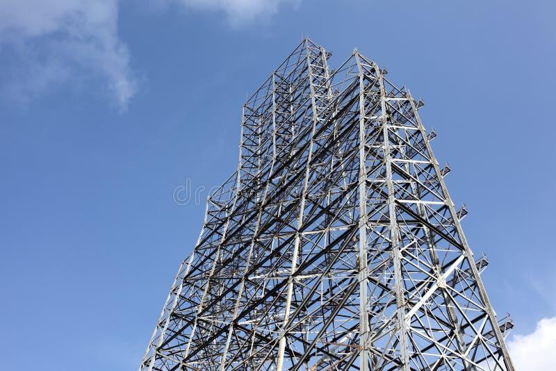 Download Steel framework stock image. Image of connection, crossed - 29022357