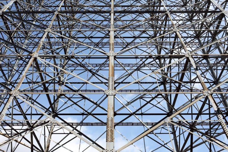 Download Steel framework stock image. Image of background, high - 29022381