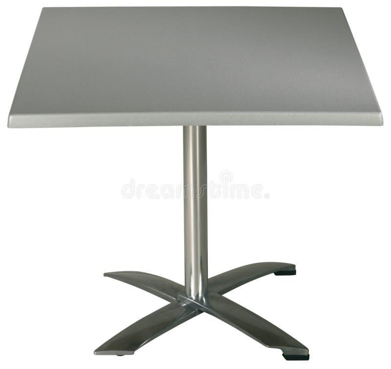 Steel Garden Table stock images