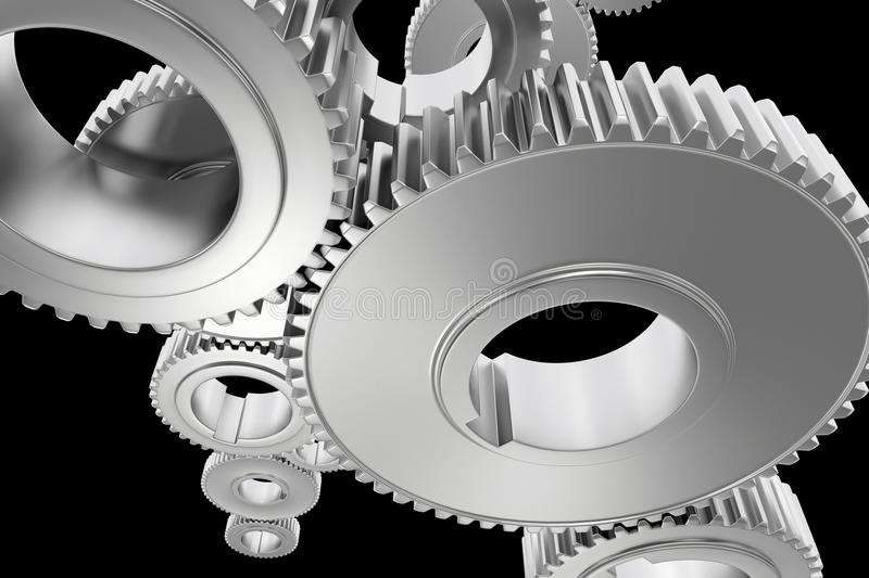 Download Steel Gears Background Royalty Free Stock Photo - Image: 25956835