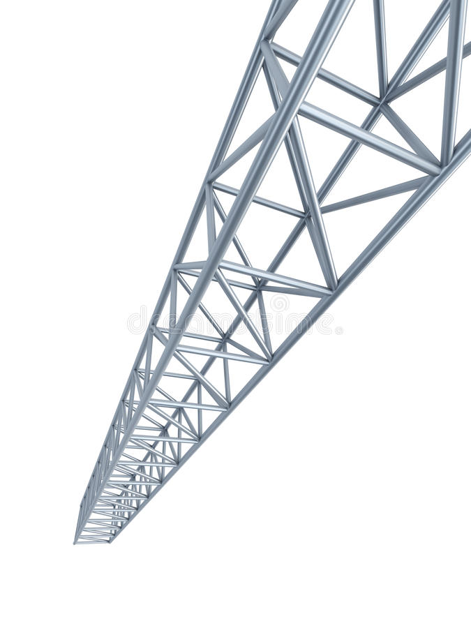 Download Steel girder stock illustration. Image of grey, material - 26385232