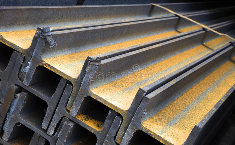 Download Steel girders stock image. Image of construction, materials - 10494897
