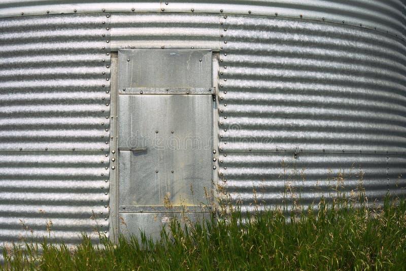 Steel Grain Bin Door stock images