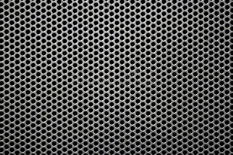 Steel grid royalty free stock photo