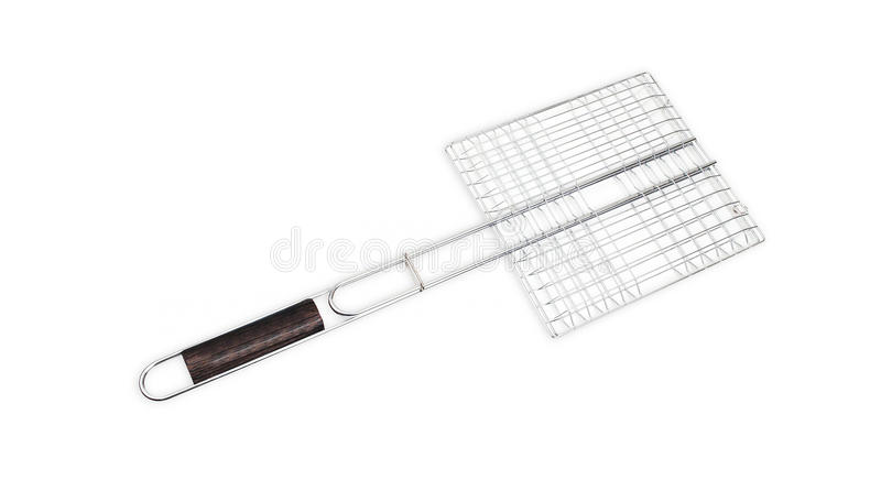 Steel grid for grill stock images
