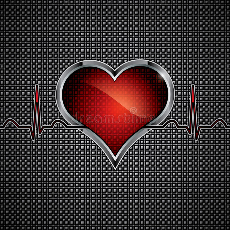 Download Steel Heart Royalty Free Stock Photography - Image: 22474807