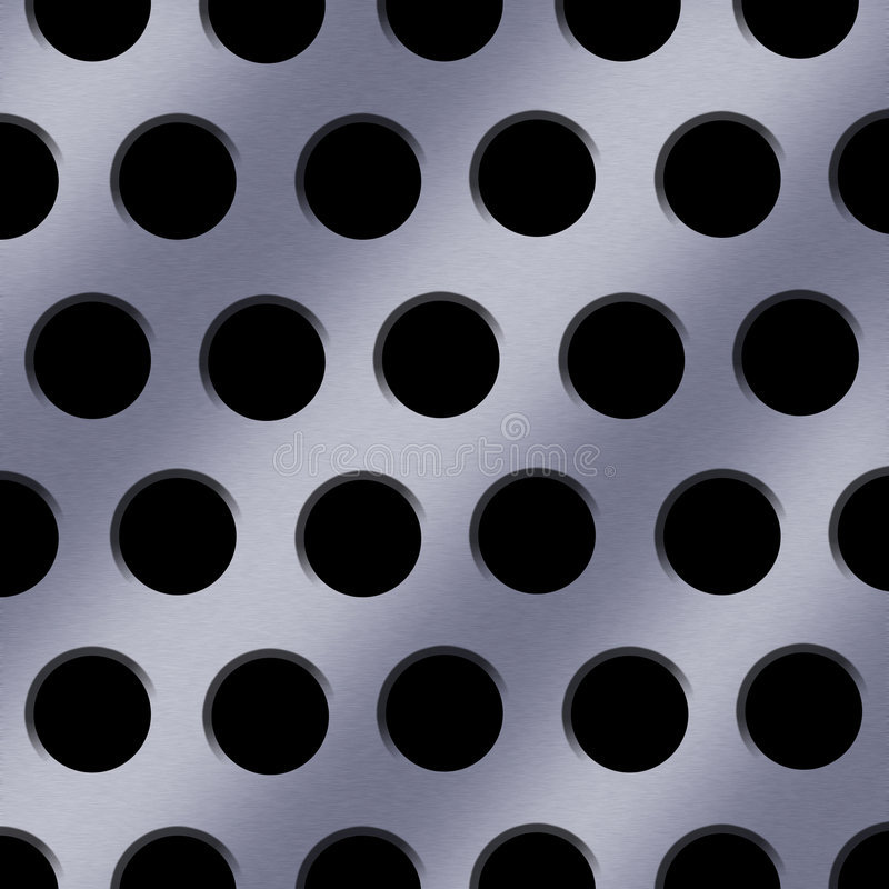 Download Steel Holes Background Stock Image - Image: 3022321