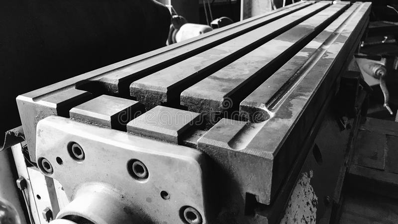 Steel and industrial machinery royalty free stock photos