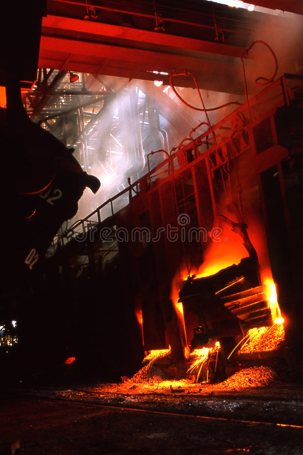 Download Steel industry stock image. Image of europe, activity - 4833215